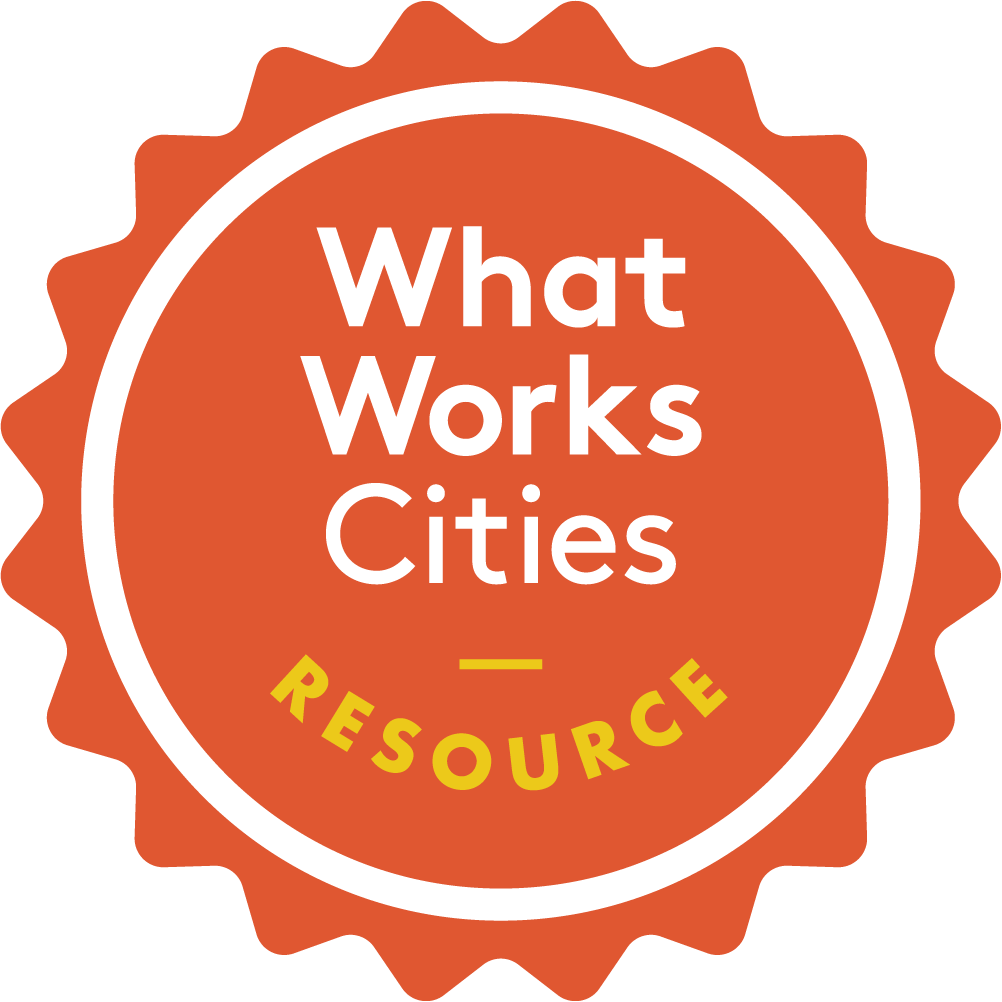 What Works Cities resource stamp